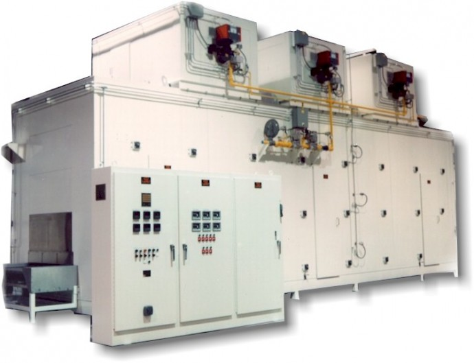 continuous multi-pass dryers