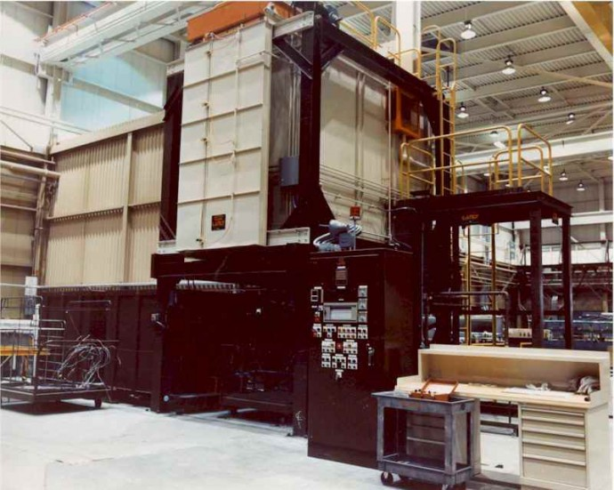 Industrial ovens for the aluminum industry