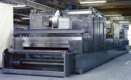 The Lanly Company Continuous Baking Ovens Conveyor