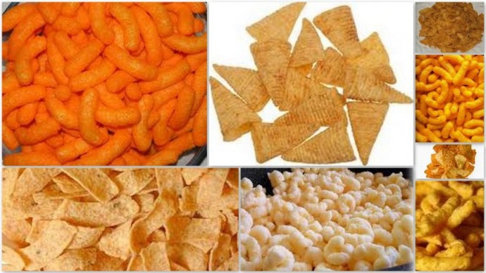 extruded corn snack food dryers