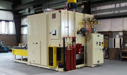 Fiber Mat Heating System