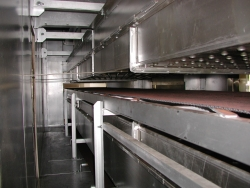Large Continuous Oven interior