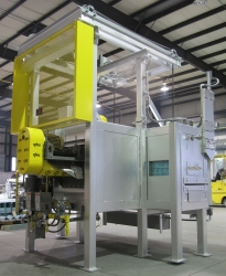 Polypropylene Strapping Continuous Curing Oven - Back View