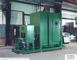 Tempering Oven Automotive Industry