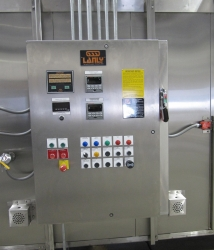 Stainless Steel Food Oven Control Panel