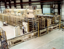 Multilevel Oven and Material Handling System