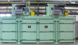 Two Compartment, Eight Rack Batch Oven