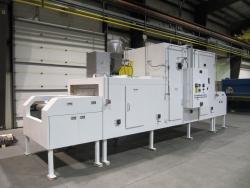 Model 2500 Single Pass Food Dryer